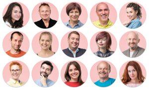 rostos variados diferença público alvo persona avatar