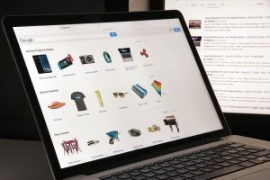 notebook tela aberta google shopping