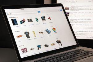 notebook tela aberta google shopping