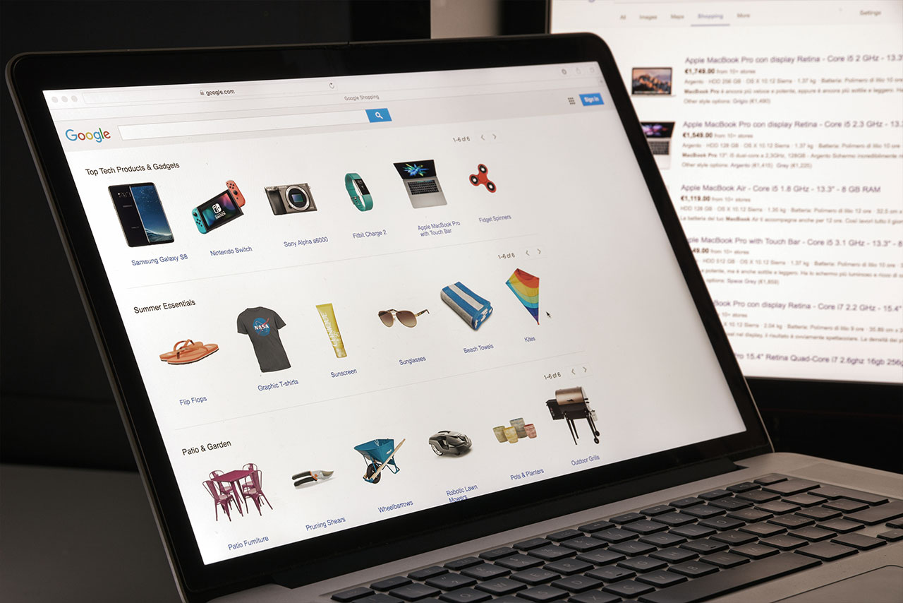 produtos google shopping