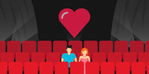 como funciona inbound marketing cinema casal vetor