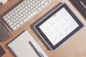 o que é gestão de projetos organização calendário