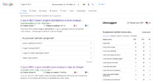 o que é tráfego orgânico serp google