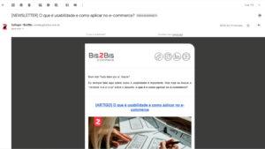 como fazer uma newsletter modelo de newsletter bis2bis