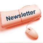 como fazer uma newsletter jornal e mouse de computador